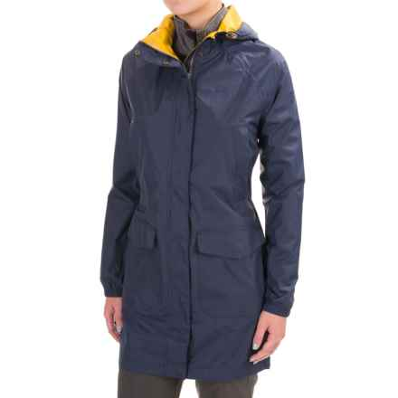 Craghoppers Summer Hooded Parka - Waterproof (For Women) in Soft Navy - Closeouts