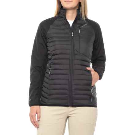 549ad15055f Craghoppers Voyager Hybrid Windstopper® Jacket - Insulated (For Women) in  Black - Closeouts