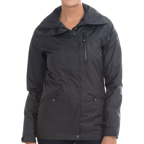 Crane and Lion Rain Jacket (For Women)