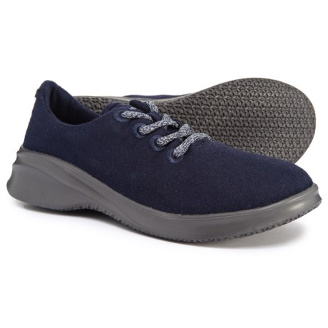 Image of Crane Wool Lace-Up Sneakers (For Women)