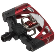 Crank Brothers Mallet 3 Mountain Bike Pedals - SPD in Black/Red - Closeouts