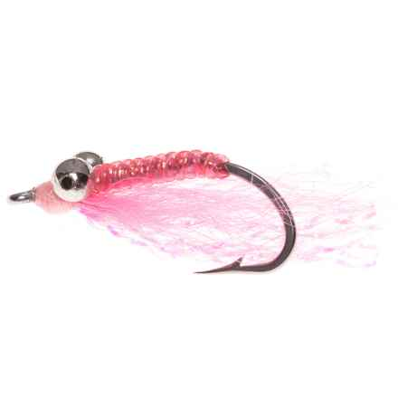Crazy Charlie Flies - Dozen in Pink - Closeouts