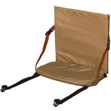 Crazy Creek Canoe Folding Chair 3 in Port/Sand - Closeouts