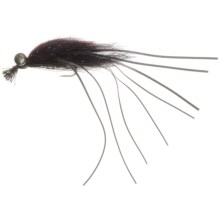 Crazy Daddy Bass Fly - Dozen in Black - Closeouts