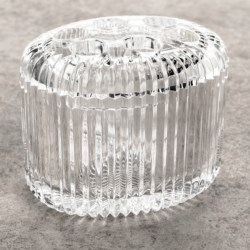 Creative Bath Clear Acrylic Toothbrush Holder in Crystal Counter