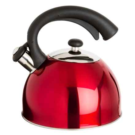 Creative Home Aero Tea Kettle - 2.5 qt. in Cranberry - Closeouts