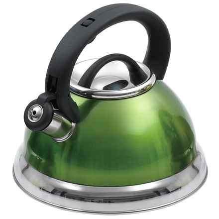 Creative Home Alexa Whistling Tea Kettle - 3 qt. in Chartreuse - Closeouts