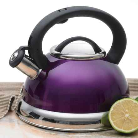 Creative Home Alexa Whistling Tea Kettle - 3 qt. in Purple - Closeouts