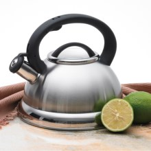 Creative Home Alexa Whistling Tea Kettle - 3 qt. in Stainless Steel - Closeouts