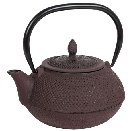 Creative Home Cast Iron Tea Pot with Infuser Basket 30 oz.