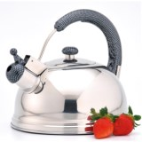 Creative Home Cobra Whistling Tea Kettle - 2.7 qt., Stainless Steel