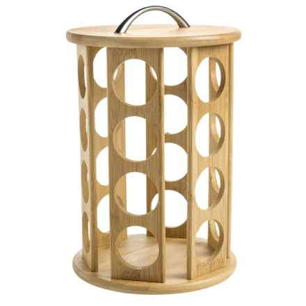 Creative Home Coffee Pod Holder - Bamboo, Small in Bamboo - Closeouts