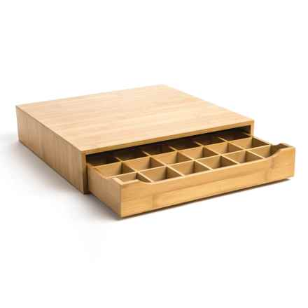 Creative Home Coffee Pod Holder - Large in Bamboo - Closeouts
