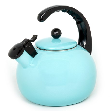 Creative Home Horizon Steel Whistling Tea Kettle - 2.5 qt.