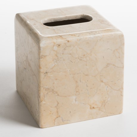 Creative Home Marble Bath Tissue Box in Champagne