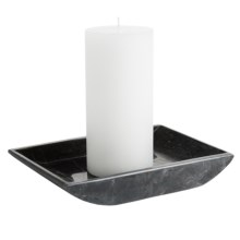 Creative Home Marble Boat Holder - Large in Charcoal - Closeouts