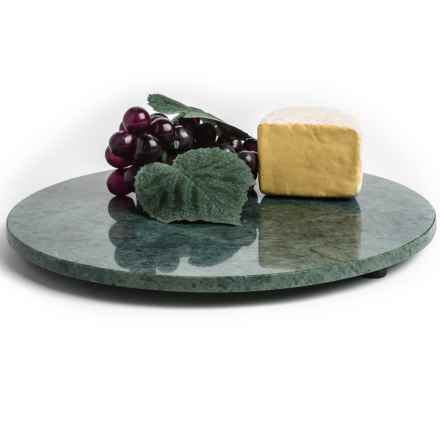 "Creative Home Marble Cheese Board - 12"" in Green - Closeouts"