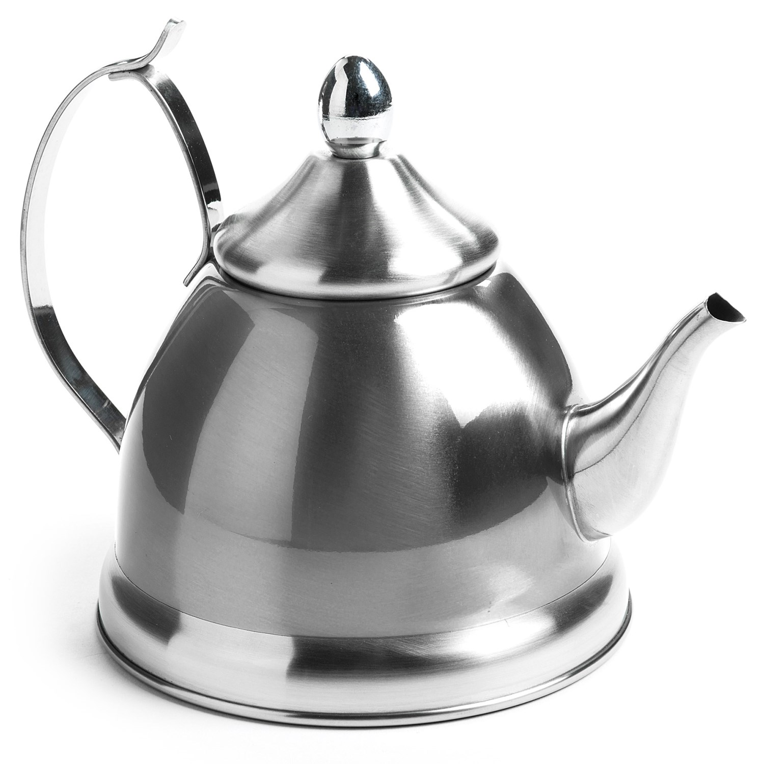 Stainless Steel Tea Kettle ~ Creative home nobili tea kettle with infuser qt