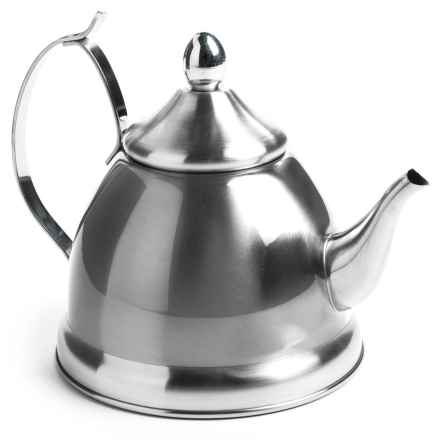 Creative Home Nobili Tea Kettle with Infuser - 1 qt., Stainless Steel in Stainless Steel - Closeouts