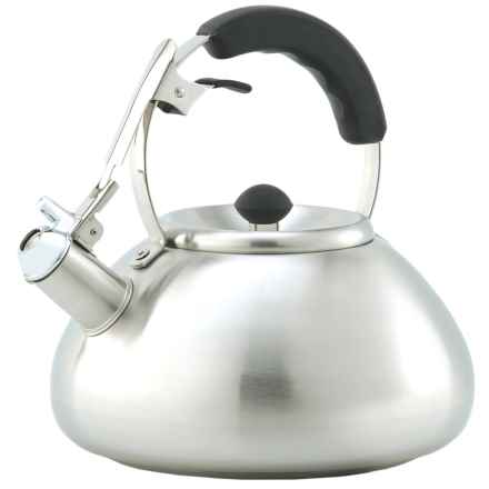 Creative Home Savanah Tea Kettle - 3 qt. in Stainless Steel - Closeouts