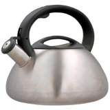 Creative Home Sphere Tea Kettle - 3 qt., Stainless Steel
