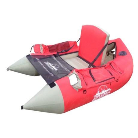 Creek Company 420 Ultralight Float Tube in Red