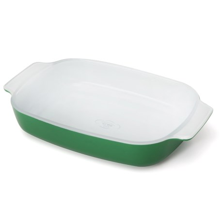 "Creo SmartGlass Mini Baking Dish - 7x11-1/2"" in Bali Green"