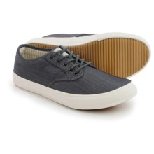Crevo Admiral Chambray Sneakers (For Men) in Grey - Closeouts