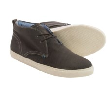 Crevo Bader Canvas Chukka Boots (For Men) in Brown - Closeouts