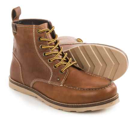 Crevo Buck Boots - Leather (For Men) in Caramel - Closeouts