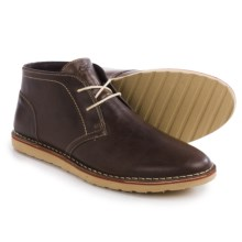 Crevo Carbine Chukka Boots - Leather (For Men) in 201 Brown Leather - Closeouts