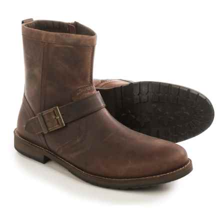 Crevo Carston Leather Boots (For Men) in Brown - Closeouts