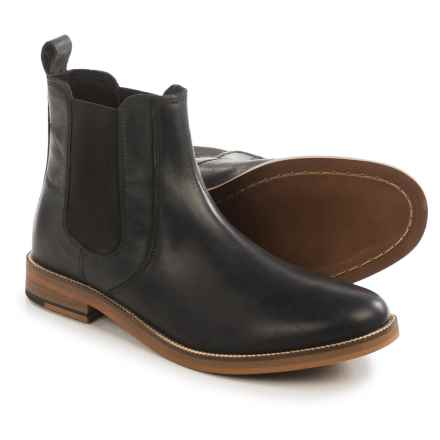 Crevo Denham Boots - Leather (For Men) in Black - Closeouts