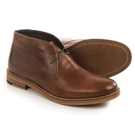 Crevo Dorville Chukka Boots - Leather (For Men) in Chestnut - Closeouts