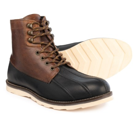 37305f967b8 Crevo Forthway Duck Boots - Leather (For Men) in Chestnut