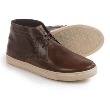 Crevo Marston Chukka Boots - Leather (For Men) in Brown - Closeouts