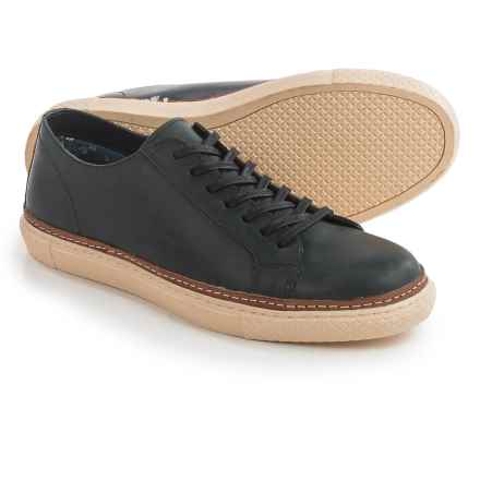Crevo Palomino Sneakers - Leather (For Men) in Black - Closeouts