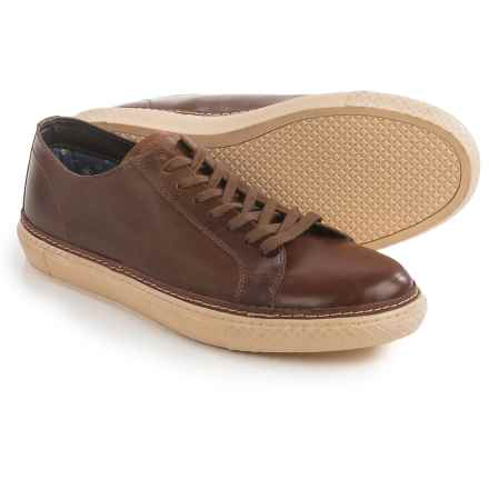 Crevo Palomino Sneakers - Leather (For Men) in Chestnut - Closeouts