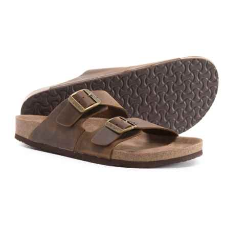 Crevo Sedona Sandals - Leather (For Men) in Brown - Closeouts