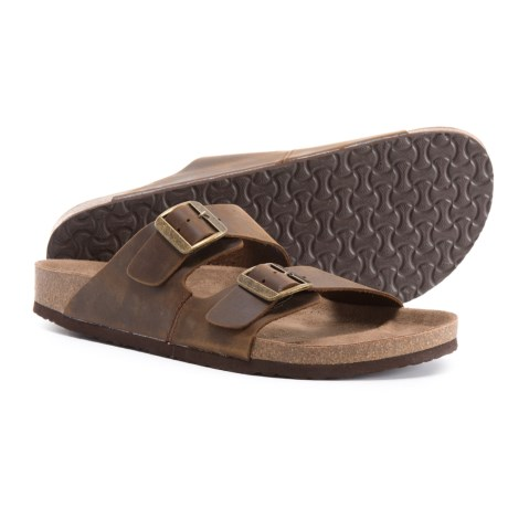 46fffb2bcdbc Crevo Sedona Sandals - Leather (For Men) in Brown