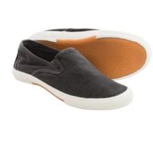 Crevo Twin Fin Canvas Shoes (For Men) in Black - Closeouts