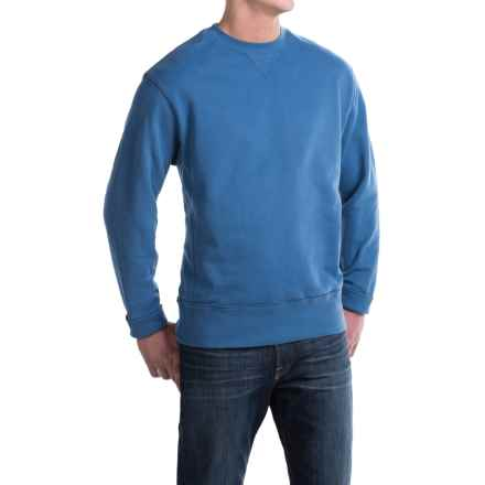 Crew Neck Sweatshirt - Cotton (For Men) in Blue - 2nds
