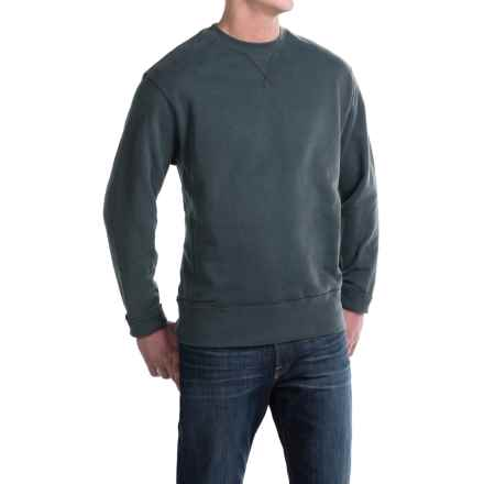 Crew Neck Sweatshirt - Cotton (For Men) in Navy - 2nds
