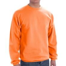 Crew Sweatshirt (For Men and Women) in Orange Heather - 2nds