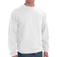Crew Sweatshirt (For Men and Women) in White - 2nds