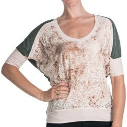 Cripple Creek Burnout Shirt - Short Sleeve (For Women) in Spruce