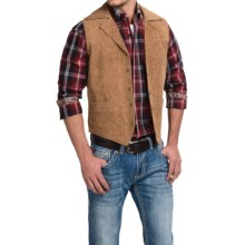Cripple Creek Leather Vest (For Men) in Oak - Closeouts