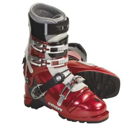 Crispi Diablo Freeride AT Ski Boots - Dynamic (For Men And Women) in Red
