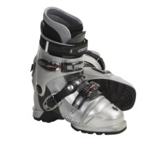 Crispi Diablo LS Dynamic AT Ski Boots (For Women) in Silver - Closeouts