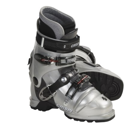 Crispi Diablo LS Dynamic AT Ski Boots (For Women) in Silver